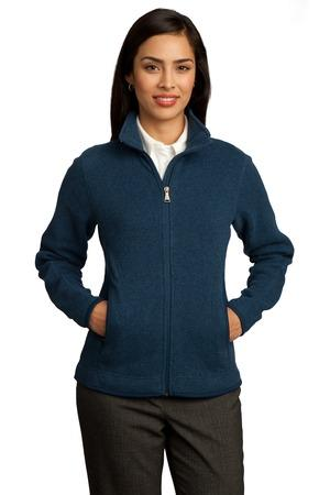 Red House - Ladies Sweater Fleece Full-Zip Jacket. RH55