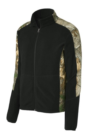 Camouflage Microfleece Full-Zip Jacket - RCG3809