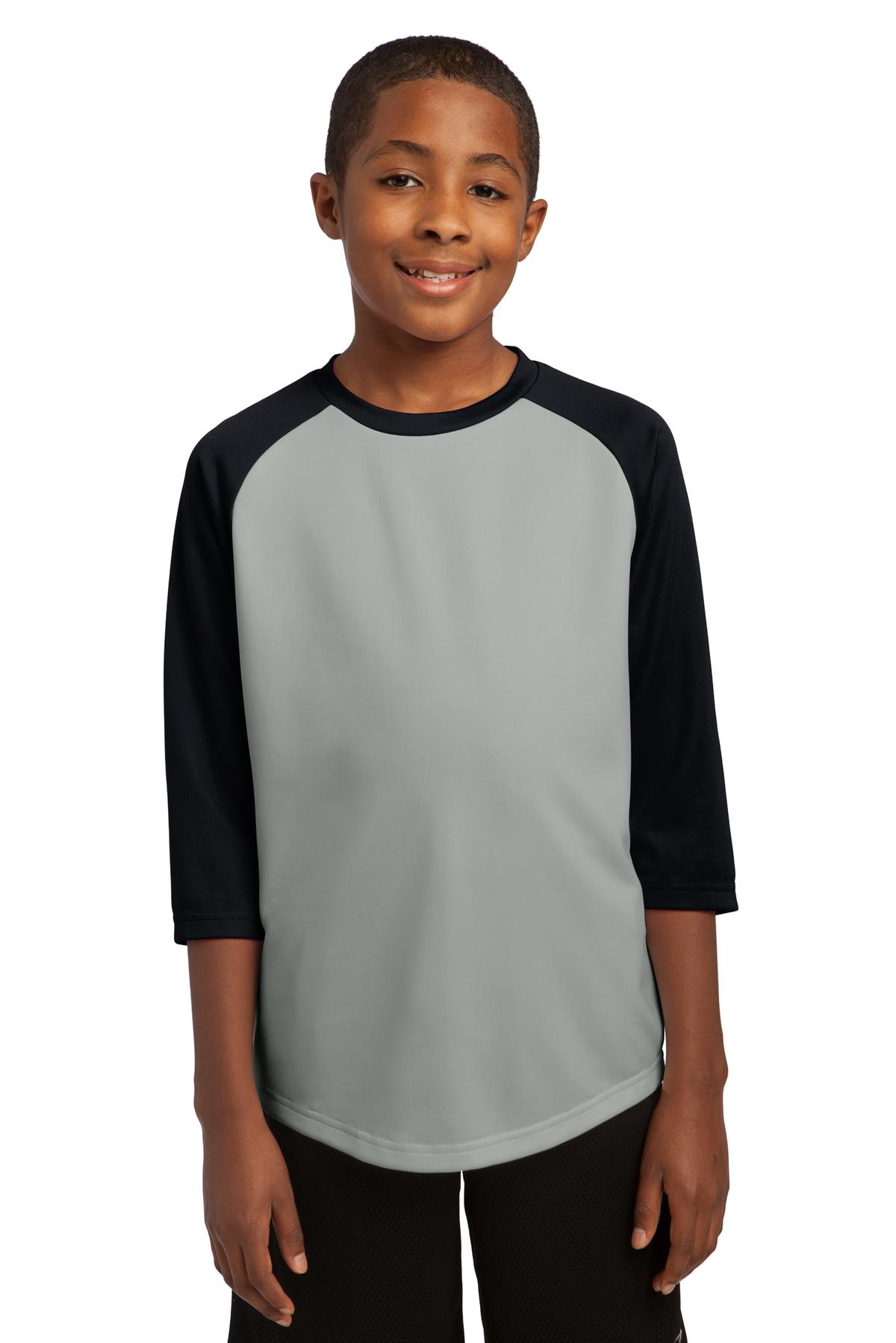 Sport-Tek Youth PosiCharge Baseball Jersey. YST205