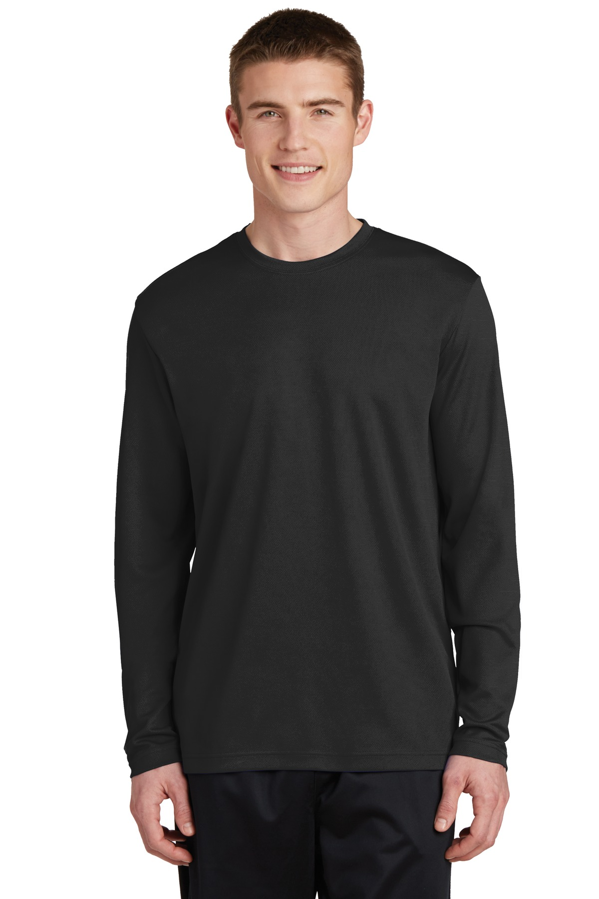Sport-Tek PosiCharge RacerMesh Long Sleeve Tee. ST340LS