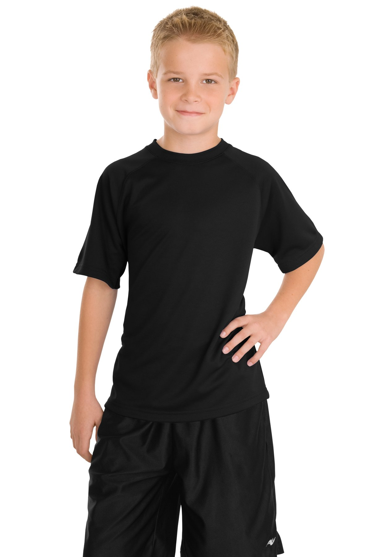 Sport-Tek Youth Dry Zone Raglan T-Shirt.  Y473
